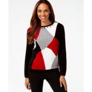 Alfred Dunner Madrid sweater NWT